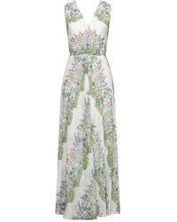 Maje Long Dress - Natural