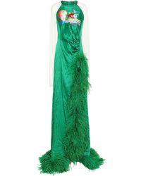 Vivetta Robe longue - Vert
