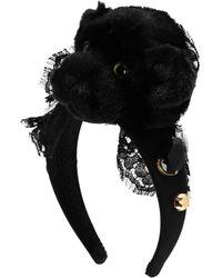 Dolce & Gabbana Accessoire pour cheveux - Noir