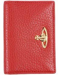 Vivienne Westwood Document Holder - Red