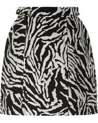 Proenza Schouler Knee Length Skirt - Black