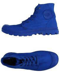 Palladium High-tops & Trainers - Blue