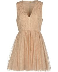 Alice + Olivia Short Dress - Brown