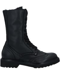 Paciotti 308 Madison Nyc Ankle Boots - Black