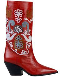 Casadei Boots - Red