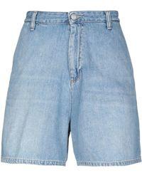 Carhartt Short en jean - Bleu