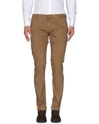 Michael Coal Casual Trousers - Natural