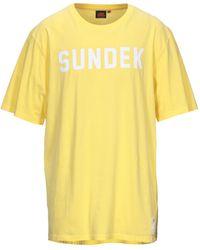 Sundek T-shirt - Giallo