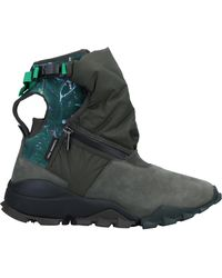 Y-3 Ankle Boots - Green