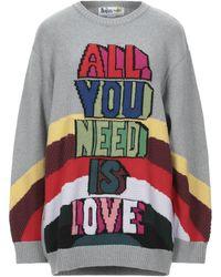 Stella McCartney - Pull en intarsia All You Need Is Love - Lyst