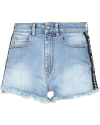 Marcelo Burlon Denim Shorts - Blue