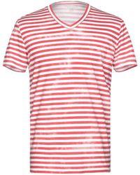 Majestic Filatures T-shirt - Rosso