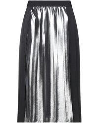 Pianurastudio Midi Skirt - Black