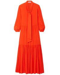 Tibi Langes Kleid - Orange