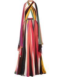 Elie Saab Long Dress - Yellow
