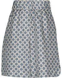Alberto Biani Knee Length Skirt - White
