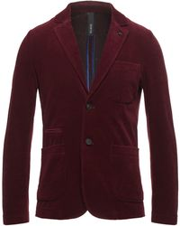 DISTRETTO 12 Suit Jacket - Red