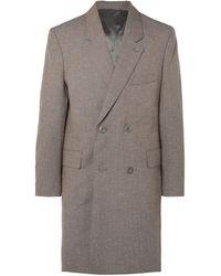 Lemaire Overcoat - Gray