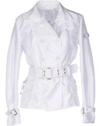 Peuterey Overcoat - White