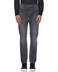 NN07 Denim Trousers - Black