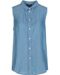 Soallure - Denim Shirt - Lyst