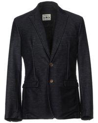 Macchia J Suit Jacket - Blue