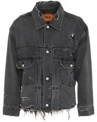 Doublet Capospalla jeans - Nero