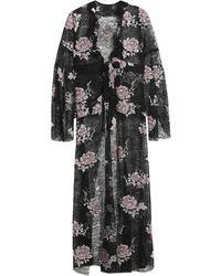 Anna Sui Overcoat - Black