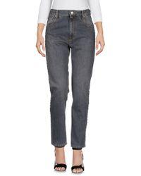 Isabel Marant Pantalon en jean - Gris