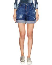 DSquared² Denim Shorts - Blue