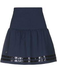 Beverly Hills Polo Club Midi Skirt - Blue