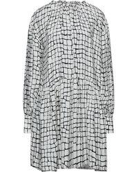 Bagutta Short Dress - White