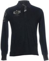 Etiqueta Negra Poloshirt - Blau