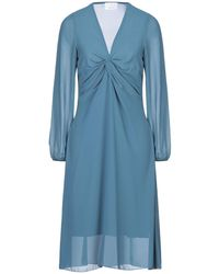 Berna Vestido por la rodilla - Azul