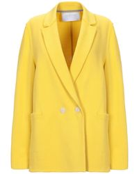 Harris Wharf London Suit Jacket - Yellow