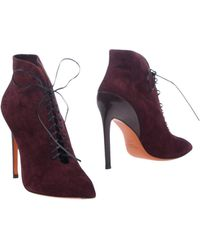Santoni Ankle Boots - Purple