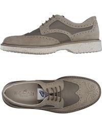 Hogan Chaussures à lacets - Gris