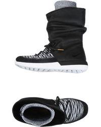 Nike Sneakers abotinadas - Negro