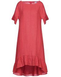 LFDL Vestido midi - Rojo