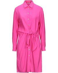 P.A.R.O.S.H. Knee-length Dress - Pink