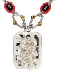 Prada Necklace - White