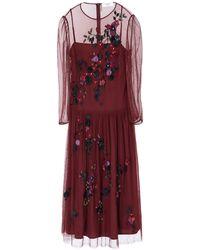 Blugirl Blumarine Long Dress - Purple