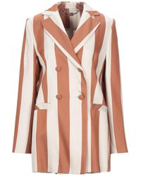 be Blumarine Suit Jacket - Natural