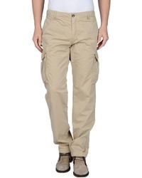 40weft Casual Trousers - Natural