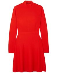 Givenchy Robe aux genoux - Rouge