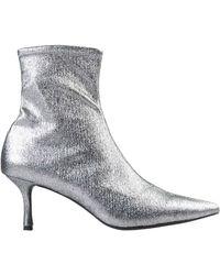 Senso Ankle Boots - Metallic