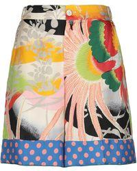Gucci Bermuda Shorts - Natural