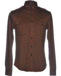 Ralph Lauren Black Label Camisa - Marrón