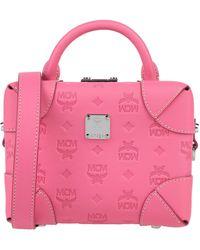 MCM Cross-body Bag - Pink