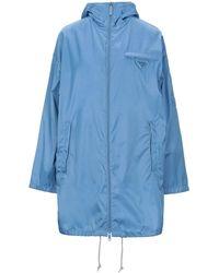 Prada Overcoat - Blue